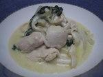 鶏ささみのサワークリーム煮.JPG